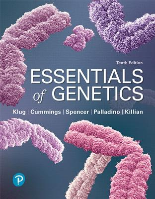 Essentials of Genetics - Klug, William, and Cummings, Michael, and Spencer, Charlotte