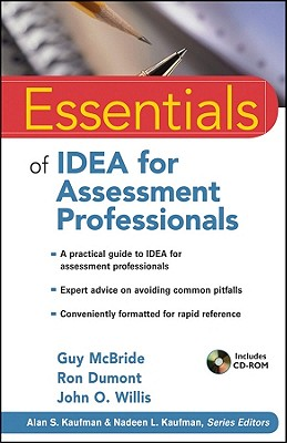 Essentials of Idea for Assessment Professionals - McBride, Guy, and Dumont, Ron, and Willis, John O