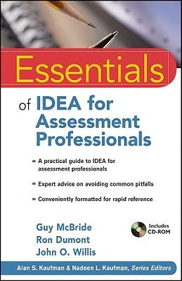Essentials of Idea for Assessment Professionals - McBride, Guy