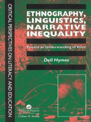 Ethnography, Linguistics, Narrative Inequality: Target Organ and Modulator of Toxicity - Hymes, Dell H
