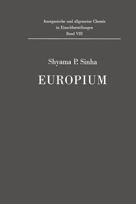 Europium - Sinha, Shyama P