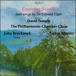 Evening Scene-Songs By Sir Edward Elgar