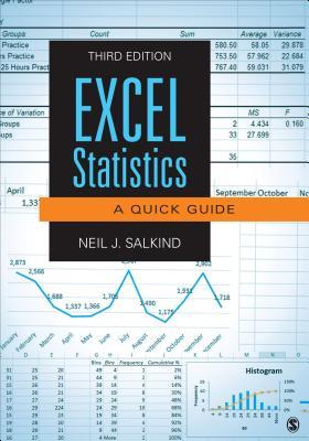 Excel Statistics: A Quick Guide - Salkind, Neil J, Dr.