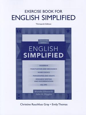 Exercise Book for English Simplified - Ellsworth, Blanche, and Higgins, John A.