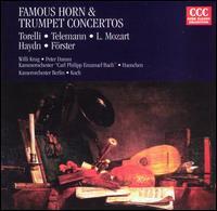 Famous Horn & Trumpet Concertos - Peter Damm (french horn); Willi Krug (trumpet)