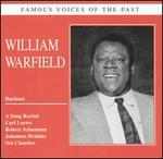 Famous Voices of the Past: William Warfield