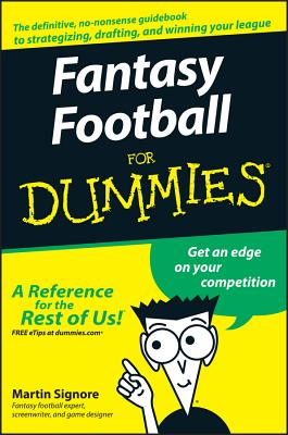 Fantasy Football for Dummies - Signore, Martin