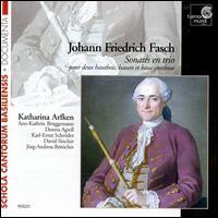 Fasch: Sonates en trio - David Sinclair (viola da gamba); David Sinclair (violone); David Sinclair (contrabass); Donna Agrell (bassoon);...