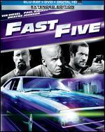 Fast Five [2 Discs] [Includes Digital Copy] [UltraViolet] [Blu-ray/DVD]