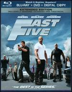 Fast Five [Rated/Unrated] [2 Discs] [Includes Digital Copy] [Blu-ray/DVD]