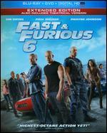 Fast & Furious 6 [2 Discs] [Includes Digital Copy] [UltraViolet] [Blu-ray]
