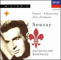 Fauré, Chausson: French Airs - Gérard Souzay (baritone); Jacqueline Bonneau (piano)