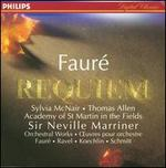 Fauré: Requiem, Op.48; Pavane; Koechlin: Choral sur le nom de Fauré; Schmitt: In Memoriam, Op. 72; Ravel: Pavane - Academy of St. Martin-in-the-Fields; John Birch (organ); Sylvia McNair (soprano); Thomas Allen (vocals); Academy of St. Martin-in-the-Fields Chorus (choir, chorus); Academy of St. Martin-in-the-Fields