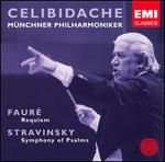 Faur�: Requiem; Stravinsky: Symphony of Psalms [Live]