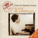 Favourite Spanish Encores - Alicia de Larrocha (piano); Royal Philharmonic Orchestra; Rafael Frühbeck de Burgos (conductor)