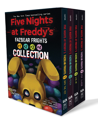 Fazbear Frights Four Book Box Set: An Afk Book Series - Cawthon, Scott, and Cooper, Elley, and West, Carly Anne