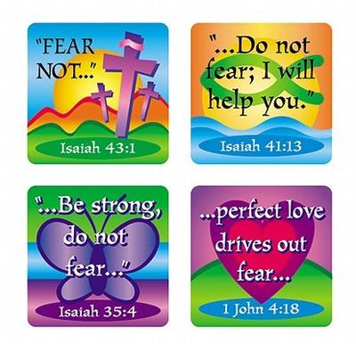 Fear Not Verses Stickers - Carson-Dellosa Christian, and Carson-Dellosa Publishing (Compiled by)
