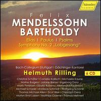 "Felix Mendelssohn Bartholdy: Elias; Paulus; Psalms; Symphony No. 2 ""Lobgesang"" - Alexandra Paulmichl (alto); Andreas Schmidt (bass); Christine Schäfer (soprano); Christoph Genz (tenor);..."