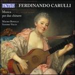 Ferdinando Carulli: Musica per due chitarre