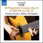 Fernando Sor: 24 Progressive Lessons, Op. 31; 6 Little Pieces, Op. 32