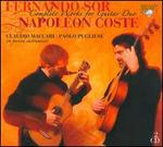 Fernando Sor: Complete Works for Guitar Duo