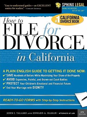 File for Divorce in California - Talamo, John J, and Haman, Edward A, Atty.