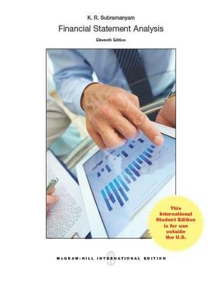 Financial statement analysis book by k r subramanyam 3 available financial statement analysis subramanyam k r fandeluxe Choice Image