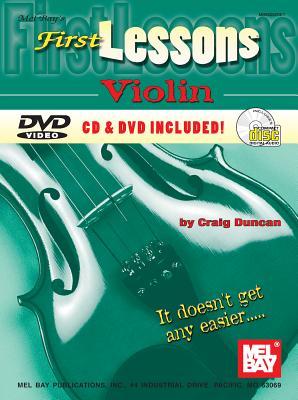 First Lessons Violin - Duncan, Craig, Dr.