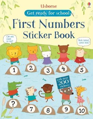 First Numbers Sticker Book - Greenwell, Jessica