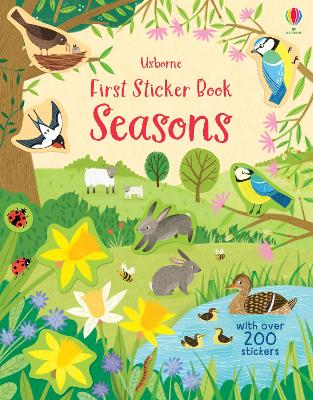 First Sticker Book Seasons - Bathie, Holly