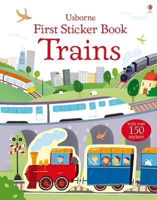 First Sticker Book Trains - Taplin, Sam