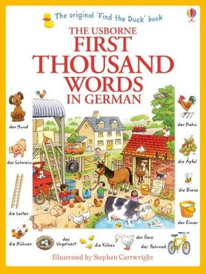 First Thousand Words in German - Amery, Heather