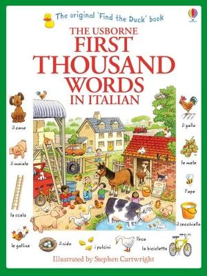 First Thousand Words in Italian - Amery, Heather