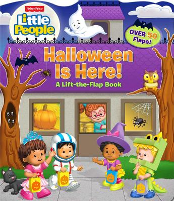 Fisher-Price Little People: Halloween Is Here! - Mitter, Matt, and Pixel Mouse House (Illustrator)