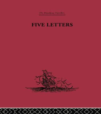 Five Letters 1519-1526 - Cortes, Hernando