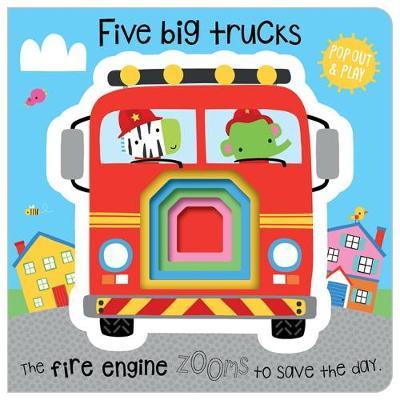 Five Little Trucks - Machell, Dawn (Illustrator)