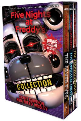 Five Nights at Freddy's 3-book boxed set - Cawthon, Scott, and Breed-Wrisley, Kira