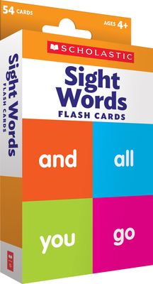 Flash Cards: Sight Words - Scholastic Teacher Resources, and Scholastic