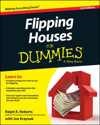 Flipping Houses for Dummies - Roberts, Ralph R, and Kraynak, Joseph