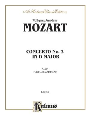 Flute Concerto No. 2, K. 314 (D Major) (Orch.): Part(s) - Mozart, Wolfgang (Composer)