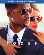 Focus [2 Discs] [Includes Digital Copy] [UltraViolet] [Blu-ray/DVD]