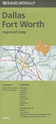 Folded Map Dallas/Fort Worth Reg TX - Rand McNally
