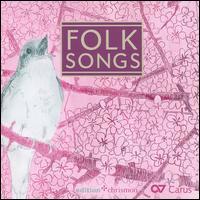 Folk Songs - Calmus Ensemble; Peter A. Bauer (percussion)