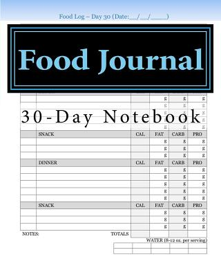 Food Journal - Books, Health & Fitness