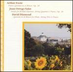 Foote: Piano Quintet; Orrego-Salas: Sextet; Diamond: Quintet