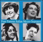 Four famous Italian Mezzo-Sopranos