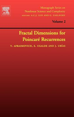 Fractal Dimensions for Poincare Recurrences - Afraimovich, Valentin, and Ugalde, Edgardo, and Urias, Jesus