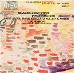 Françaix: Concertino; Piano Concerto; Saint-Saëns: Piano Concerto No. 2