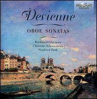 François Devienne: Oboe Sonatas - Burkhard Glaetzner (oboe); Christine Schornsheim (fortepiano); Siegfried Pank (cello)