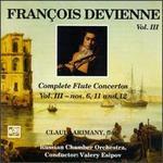 Francois Devienne: Complete Flute Concertos, Vol. 3